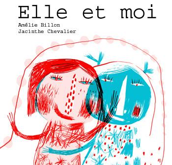 Jacinthe Chevalier Projet tandem avec Amélie Billon