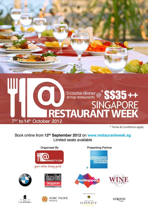 Restaurant Week EDM 2012