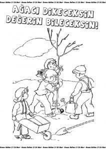 Orman Haftası Etkinlikleri Sınıf öğretmenleri Için ücretsiz özgün