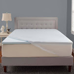 "Comfort Tech Serene Foam 2"" Mattress Topper, Cal King"