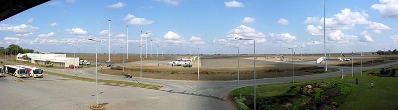 The apron at Lilongwe Kamuzu International Airport