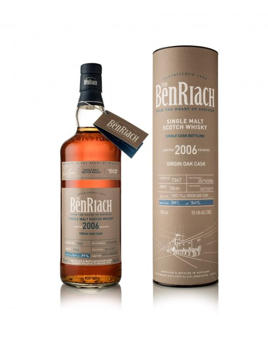 Review: BenRiach Classic Cask Strength, Single Cask #7367 Virgin Oak 10 Years Old, and Single Cask #2683 Peated Port Wood 12 Years Old
