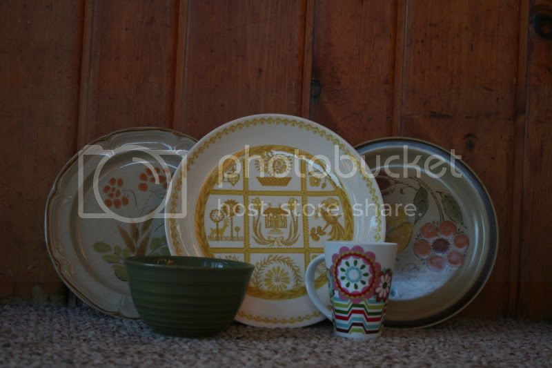 vintage dishes from goodwill st paul, mn
