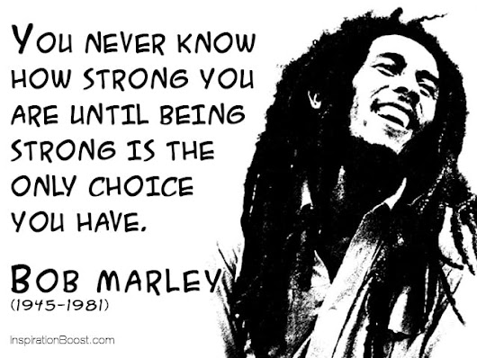 Image: Inspirational Bob Marley Quotes On Love, A Good Life and Freedom