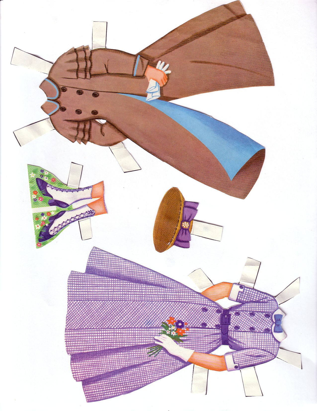 Hayley Mills - Summer Magic paper doll set (1963) 007