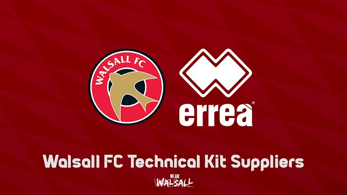 Walsall and Errea Extend Partnership For Three More Years