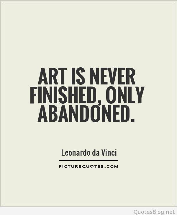 Quotes About Art Da Vinci 46 Quotes