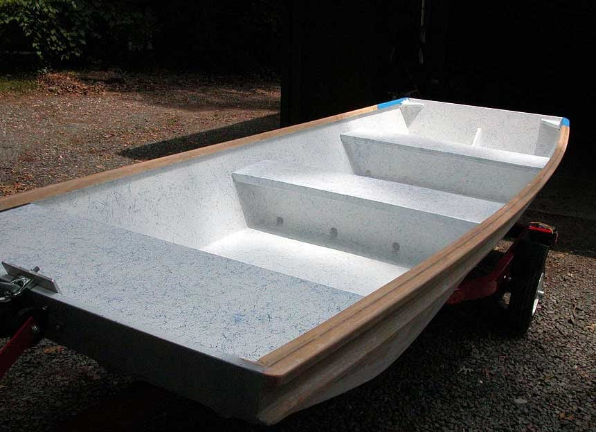 Building wooden jon boats Info ~ Bill ship