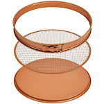 "Copper Chef Ccpp-12 Perfect Pizza and Crisper Pan Set, As Seen On Tv, 12"", 3-piece"