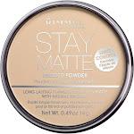 Rimmel London Stay Matte Pressed Powder, Transparent 001 - 0.49 oz compact