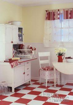 Seller and Hoosier Cabinets on Pinterest