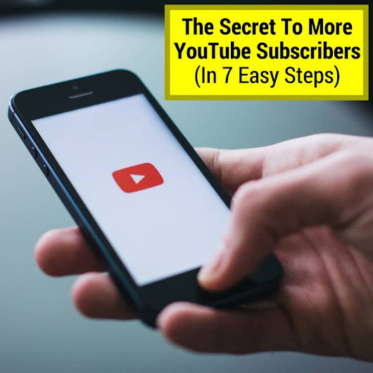 The Secret To Getting More Subscribers On YouTube (In 7 Simple Steps) - Musicaroo