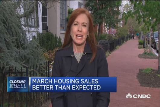 March housing sales better than expected