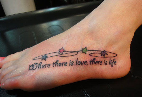 SHORT MEANINGFUL QUOTES FOR FOOT TATTOOS image quotes at ...