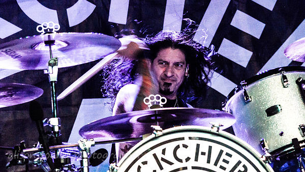 Xavier Muriel, drums, Buckcherry