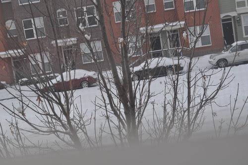 snow on v-day