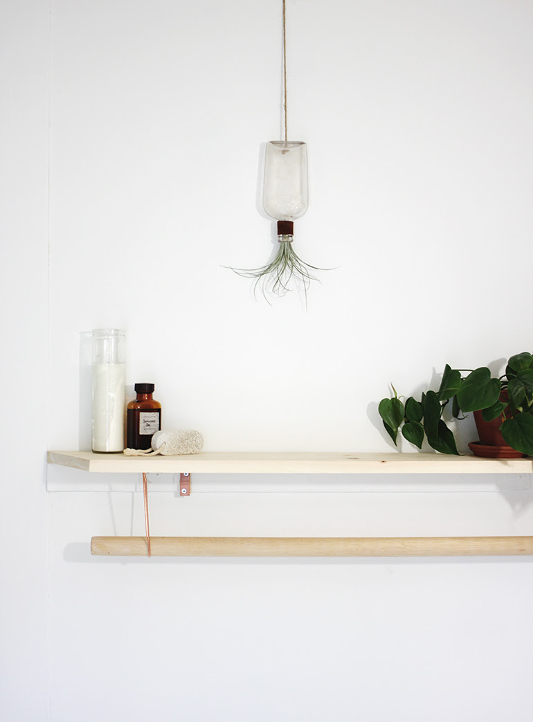 Diy Towel Rack Shelf The Merrythought