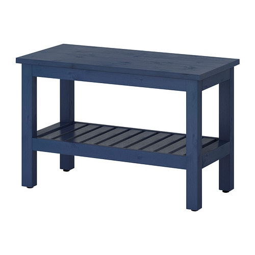 HEMNES Bench - blue - IKEA