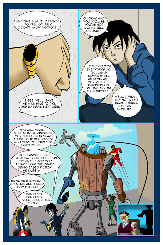 Therapy for Superheroes, Page 1 #comics #becominghero A prequel to the comics character who kills his author.