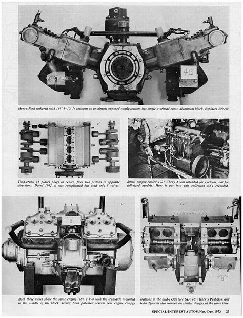 Experimental Ford Engines | Engines | 1932 ford, Truck