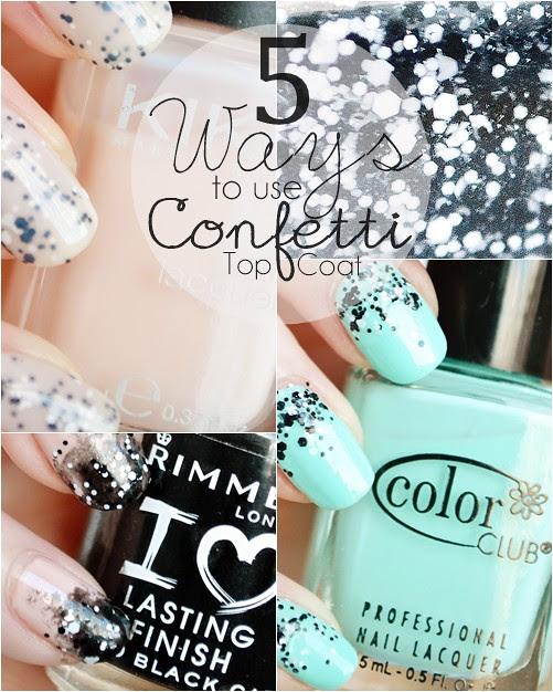 LOreal_Confetti_Top_Coat_Nail_Art