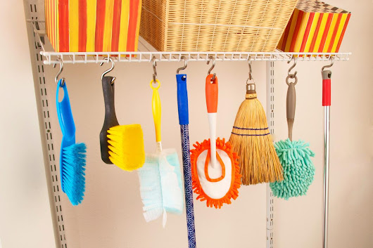 8 Storage Tips to Help You Clean Better, Clean Faster