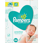 Pampers Sensitive Wipes, Sensitive, Pop-Top Packs - 504 wipes