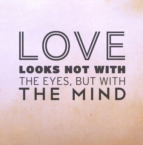 Love Is Not About How Many Days: Creation's Journey To Life: Day 261: Love Is Not Seen