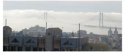 Ponte 25 Abril - Nevoeiro