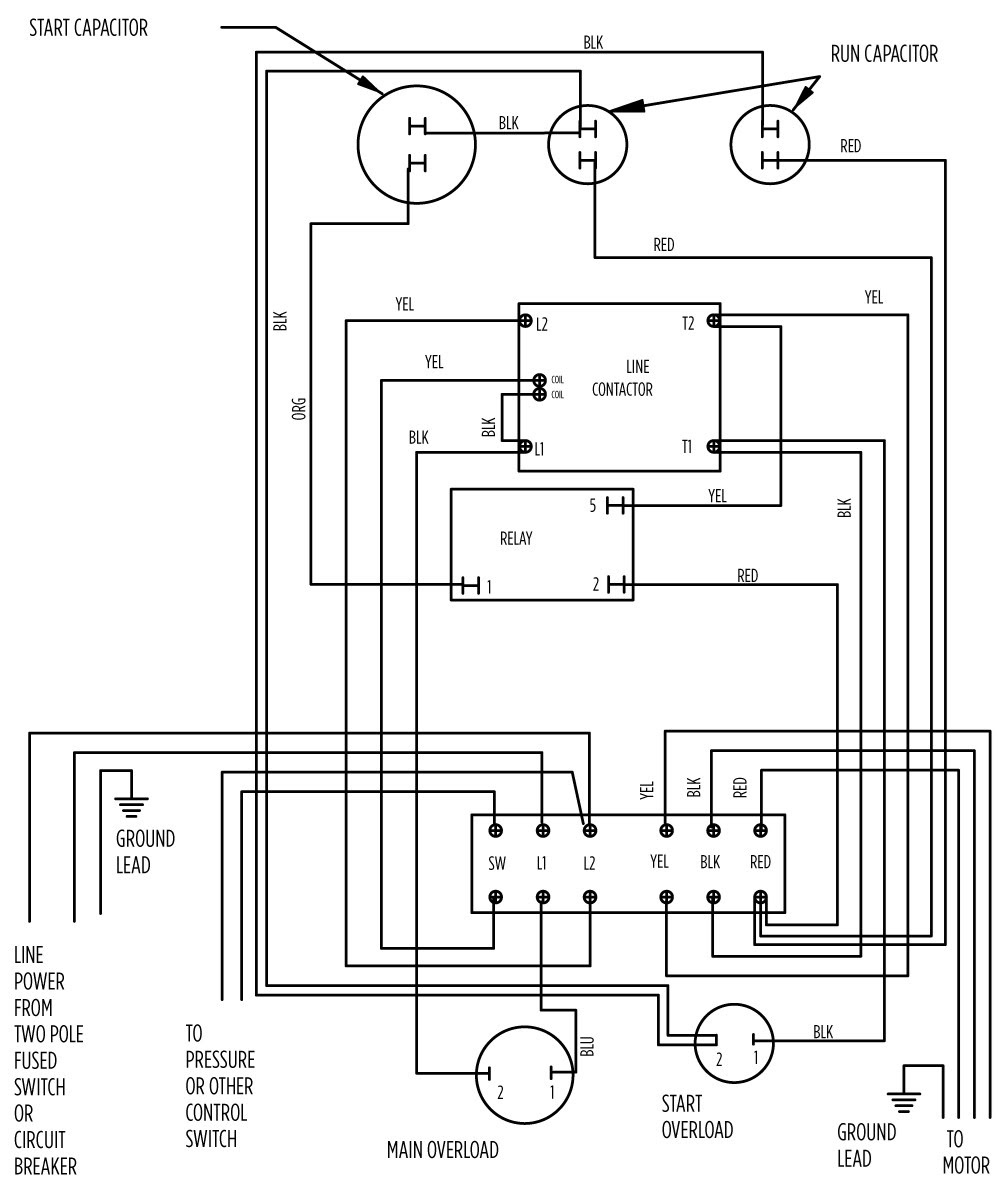 220 well pump wiring diagram