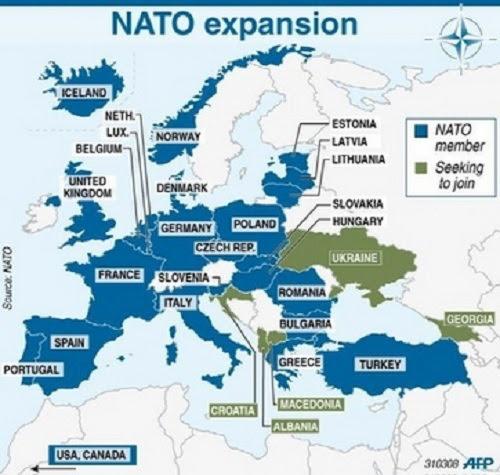 Expansión de la OTAN. Ahora a por Ucrania