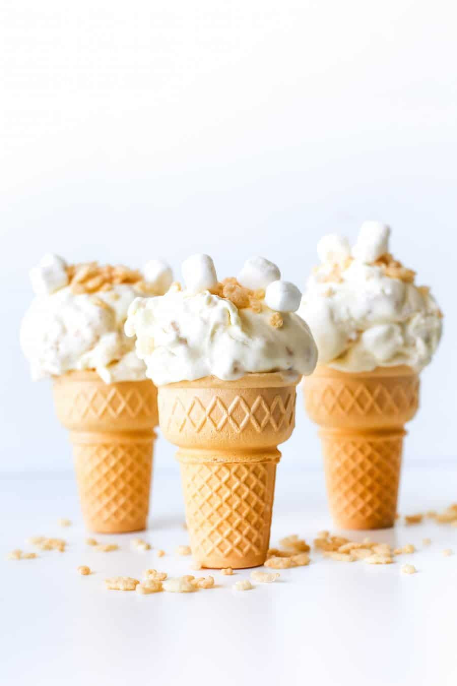 Rice Krispies Treats Ice Cream