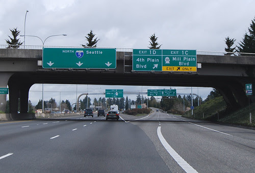 I-5 @ SR 501 south terminus
