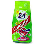 Colgate Childrens 2 In 1 Toothpaste And Mouthwash, Watermelon Flavor - 4.6 Oz