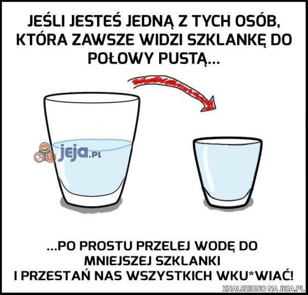 Znalezione obrazy dla zapytania memy ze szklanką wody