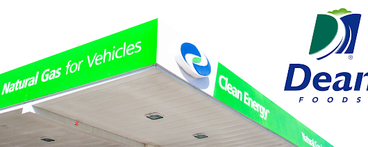 Dean Foods to Deploy 64 CNG Vehicles and Private Fuel Station Built by Clean Energy - Clean Energy Fuels