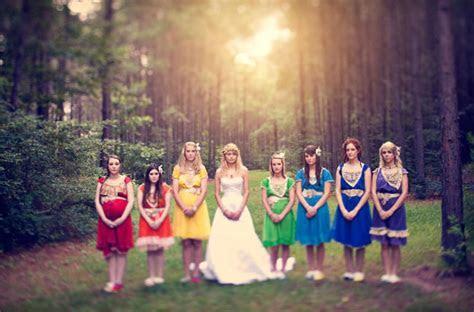 DIY Bohemian Rainbow Wedding: Jenn   Matt   Green Wedding