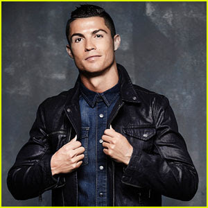 Cristiano Ronaldo Models His New Denim Line in Hot New Pics!