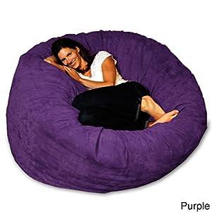 Amazon.com: Bean Bag Chair 5-foot Memory Foam Big Large ...