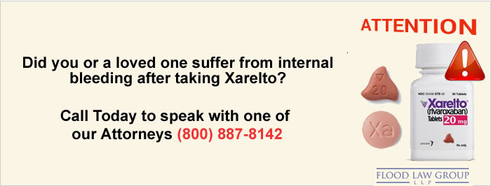 Xarelto Rivaroxaban Internal Bleeding Lawsuits