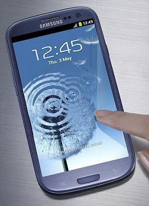The Samsung Galaxy S3 smartphone