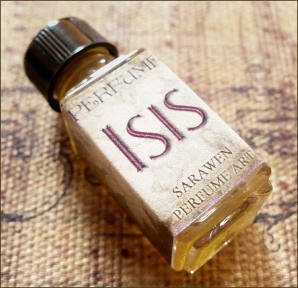 ISIS Perfume Oil Goddess - Honey & Amber Musk - SaraWen