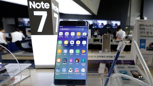 Samsung officially to stop Galaxy Note7 due to fire risks