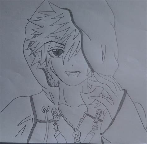 anime vampire boy drawing emowelshie   sep