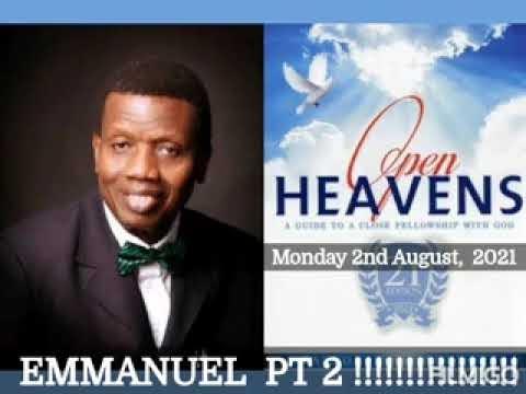 Open Heaven 2 August 2021 – Emmanuel II