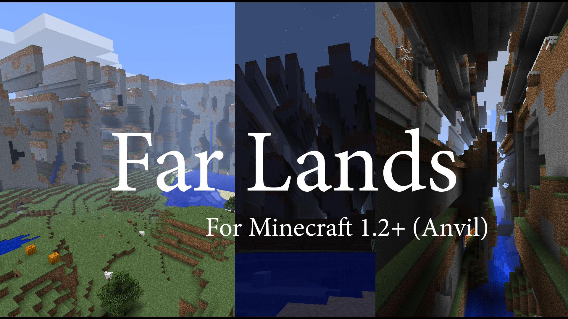 Minecraft Wiki Far Lands - Muat Turun f