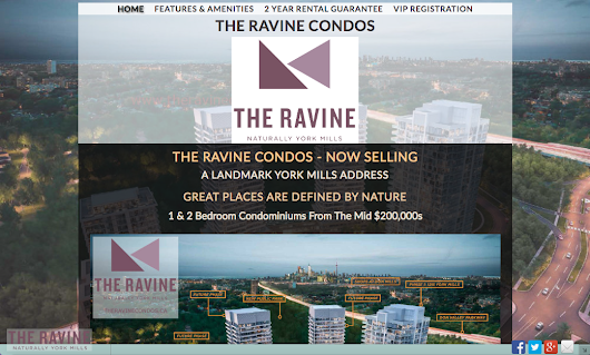 Featured Website: The Ravine Condos