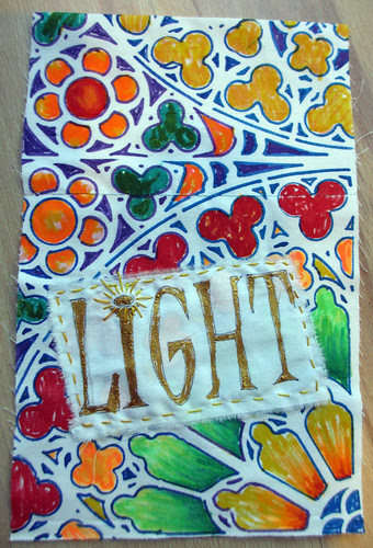 prayer flag # 18 for LIGHT