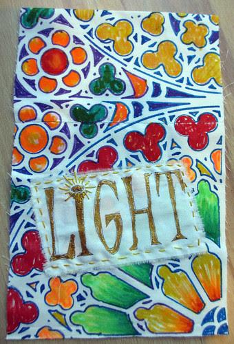 prayer flag # 18 for LIGHT