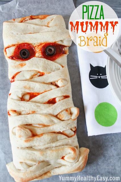 Fun Halloween Dinner Idea for kids